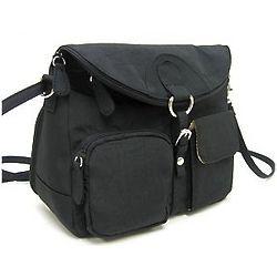 Black Supersac Convertible Handbag