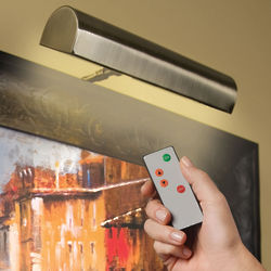 Dimmable Remote Controlled LED Gallery Lamp