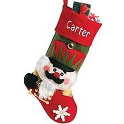 Personalized Big Face Nutcracker Stocking