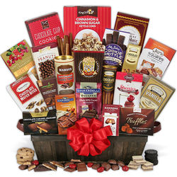 Christmas Chocolate Gift Basket for Women