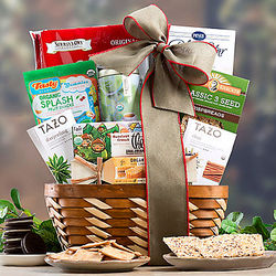 All-Natural Sweet and Savory Selection Gift Basket