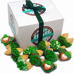 St. Patrick's Day Fortune Cookies Gift Box