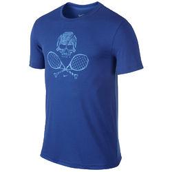 Men's Skull Racquets Tennis T-Shirt
