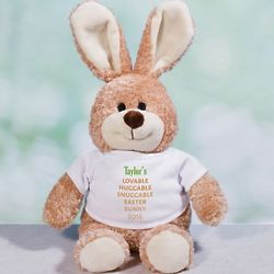 "Personalized Carrot Love 24"" Easter Bunny"