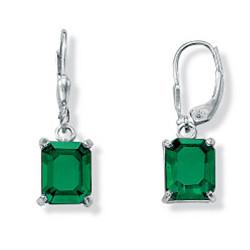 Sterling Silver Mount St. Helens-Inspired Earrings