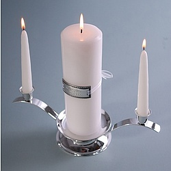 Premier Engraved Medallion Unity Candle Set