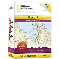 Baja Explorer Travel Map Software