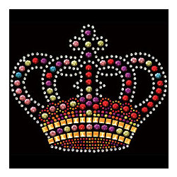 Crown Jewels Rhinestone T-Shirt