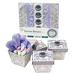 Silver and Wedgewood Party Boxes