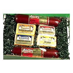 Hearty Welcome Cheese and Sausage Gift Box