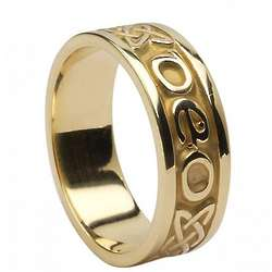 Ladies' Gra Go Deo Love Forever Irish Wedding Ring