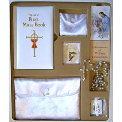 Premium Girl's First Communion Gift Set