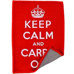 Keep Calm & Carry On ARTcloth