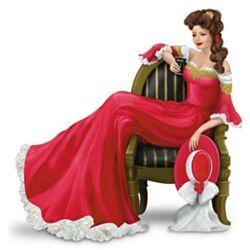 The Drink of Daydreams Coca-Cola Victorian Lady Figurine