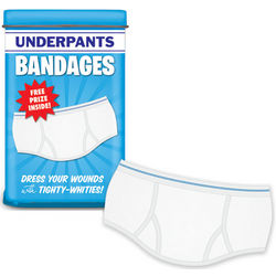 Tighty Whitie Underpants Bandages