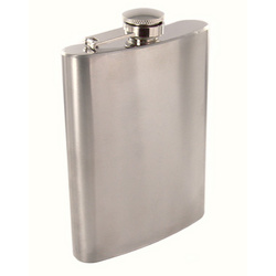 Personalized Stainless Steel 8 oz. Flask