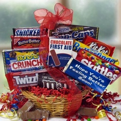 Chocolate Recovery Candy Gift Basket