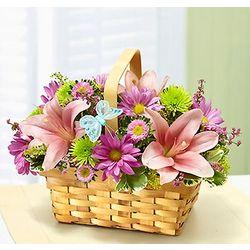Spring Inspiration Flower Basket