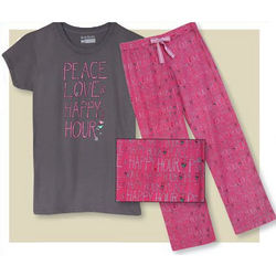 Peace Love Happy Hour Lounge Pants