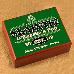 Personalized Slainte Classic Humidor