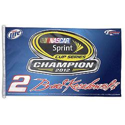 NASCAR Brad Keselowski Flag