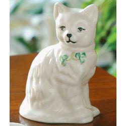 Quizzical Cat Figurine