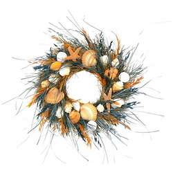 Bermuda Shores Wreath