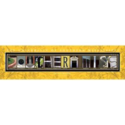 University of Southern Mississippi Architecture Print