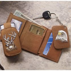 Wildlife 3-Piece Wallet Set