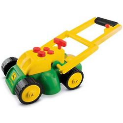 John Deere Electronic Action Lawn Mower Toy