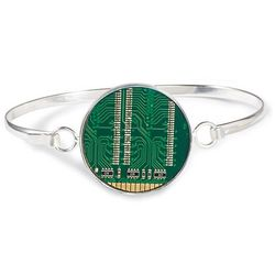 Recycled Motherboard Bracelet