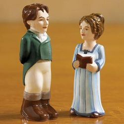 Pride and Prejudice Salt and Pepper Shakers