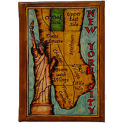Map of New York City Leather Photo Album