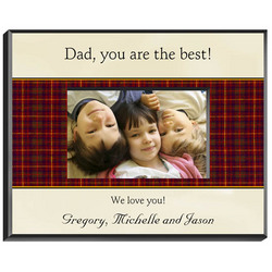 Personalized Father's Picture Frame