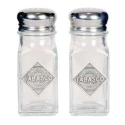 Tabasco Salt & Pepper Shakers
