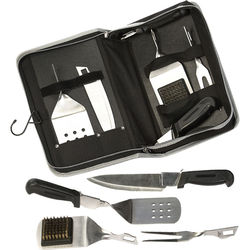 Travel BBQ Stainless Steel Set