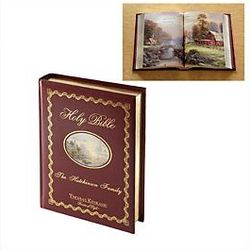 Personalized Thomas Kinkade Family Bible