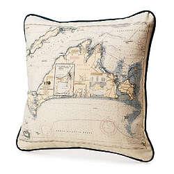 Custom Map Pillow