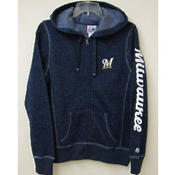 Ladies Milwaukee Brewers Hoodie