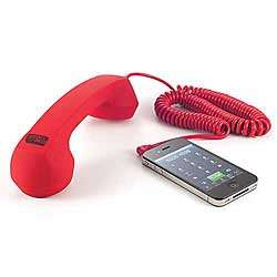 Red Retro Cell Phone Handset