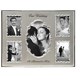 Five Opening Wedding Frame