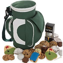 Golf Bag Cooler with Sweet Treats