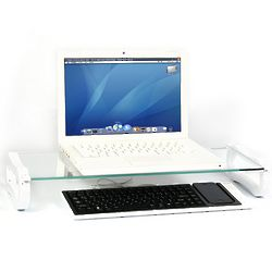 White iRoo iBoard Desk Organizer with USB Ports