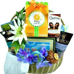 Bay Breeze Spa Gift Basket