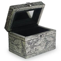 Persian Paradise Brass Jewelry Box
