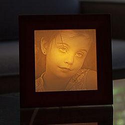 Personalized Photo Carved Illuminated Lithophane