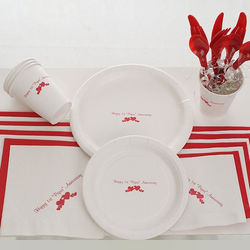 Happy 1st Anniversary Paper Picnic Set