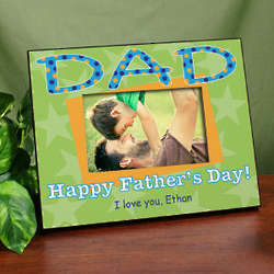 Personalized Dad Picture Frame