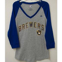 Brewers Ladies Raglan T-Shirt