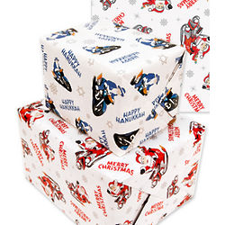 Chrismukkah Reversible Wrapping Paper